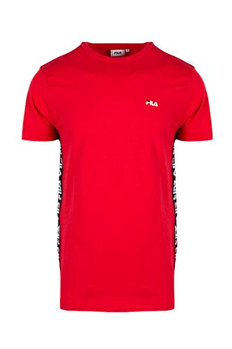 t Homme Hauts Red Urban Talan shirt Line Fila pExw8Op
