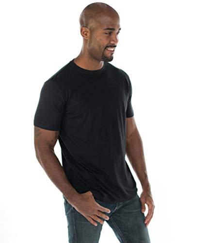 ONNO Men's Bamboo T-Shirt L Black