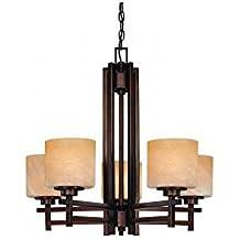 Dolan Designs 2810-133 Roxbury 5 Light Chandelier, English Bronze