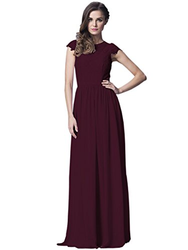 Belle House Burgundy Prom Party Dresses Designer Formal Special Gowns for Women