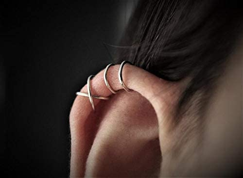 Sterling Piercing Earcuff Cartilage Earring product image