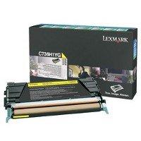 Price comparison product image Lexmark Black High Yield Return Program Print Cartridge for C736, X736, X738