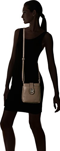 Bags4Less Damen Rania Umhängetasche, 8x21x20 cm Braun (Taupe)