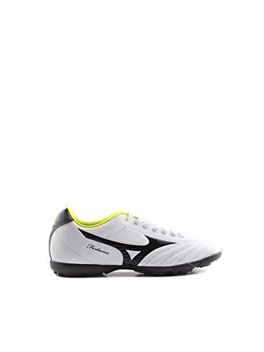 Mizuno - Mizuno Hallenfußball Schuhe Herren weiss grün Fortuna 4 As 36832 - Bianco, 40,5