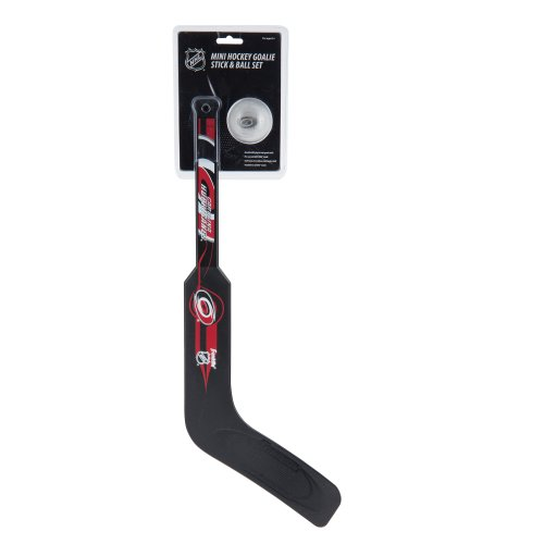 Franklin Sports NHL Carolina Hurricanes Team Mini Hockey Goalie Stick Set