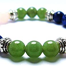 OVERCOMING GRIEF 8mm Crystal Healing Gemstone Intention Bracelet