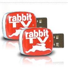 Rabbit Rabbit TV USB Entertainment System (2 PACK)