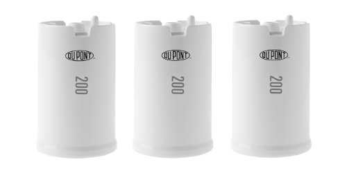 DuPont WFFMC303X Ultra Protection 200-Gallon Faucet Mount Water Filtration Cartridge,3 pack ()
