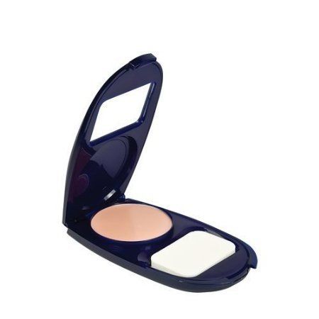 CoverGirl Smoothers AquaSmooth Makeup Compact, Natural Ivory-C .4 oz (12 g) (2-pack)
