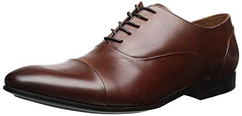 (Kenneth Cole New York Men's Mix LACE UP D Oxford Brandy 8 M US)