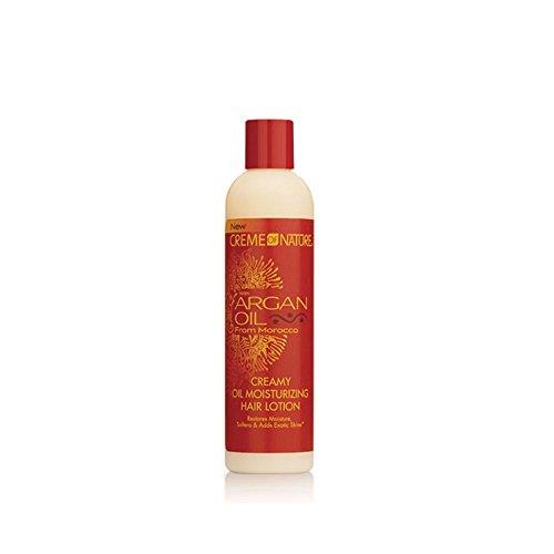 CREME OF NATURE Argan Oil Creamy Oil Moisturizing Hair Lotion - 8.45 Creamy Ounce