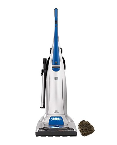 Kenmore 31140 Bags Filter, Pet and Allergy Friendly, Upright Vacuum Cleaner in Blue Silver (Complete Set), with Microfiber Cleaner Bundle