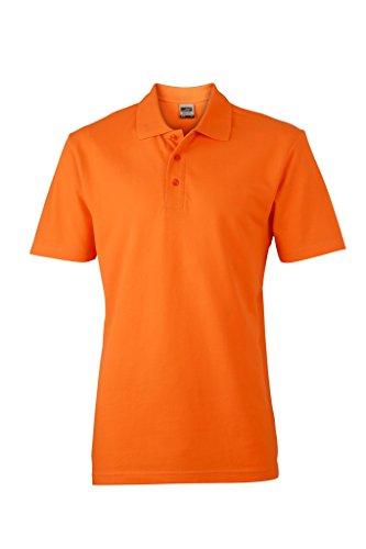 Piqué Polo | JN748, Größe:XL;Farbe:orange