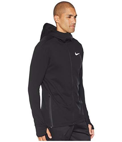 NIKE Sphere Element 2.0 Men's Full-Zip Running Hoodie (Black, X-Large) by Nike (Image #4)
