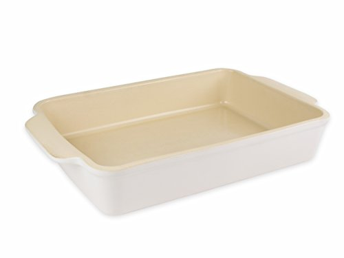 USA Pan 1110RC-SW-W Stoneware Rectangular Baking Dish