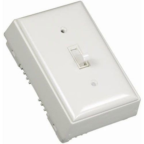 Legrand - Wiremold NMW2-S Metal Raceway Outlet (Metallic White Faceplate)