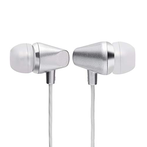 Price comparison product image BIYATE Earbuds, 3.5mm Sports Earphones Stereo Headphones with Microphone Noise Isolating Headset Fit Compatible with Samsung iPhone Xs Max XS XR X 10 7 7 Plus 8 8Plus Galaxy s6 / s8 / s10
