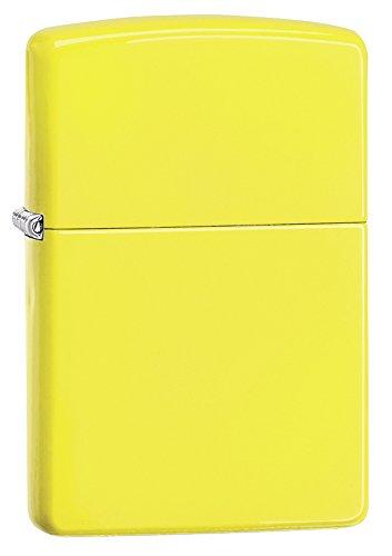 Zippo Neon Yellow Pocket Lighter