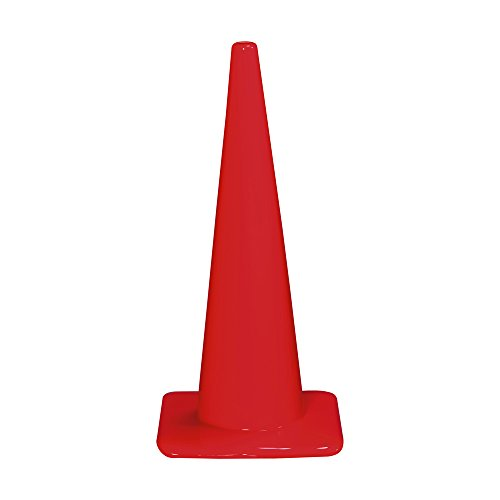 3M 90129-00006,  28''  Professional Quality Non Reflective Safety Cones,  6-Pack by 3M