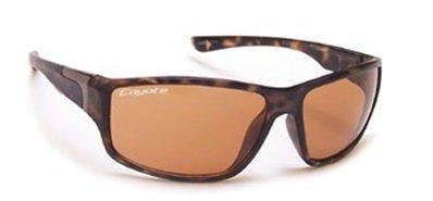Coyote Eyewear P-37 Sportsman's Polarized Sunglasses, Black Frame, Gray - Coyotes Sunglasses