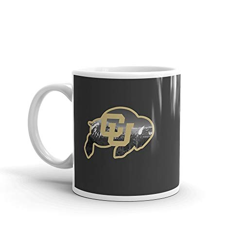 University of Colorado Boulder (mountains). 11 Oz Ceramic Glossy Mugs Gift For Coffee Lover Unique Coffee Mug, Coffee Cup