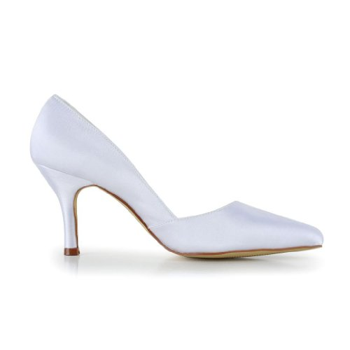 Tacco Jia Col A3127 Wedding Bianco Scarpe Sposa Donna qXnXAxBrw