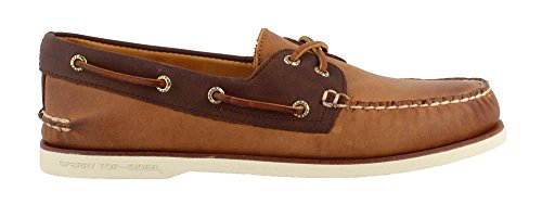 (Sperry Top-Sider Gold Cup Authentic Original Roustabout Boat Shoe Men 13 Tan)