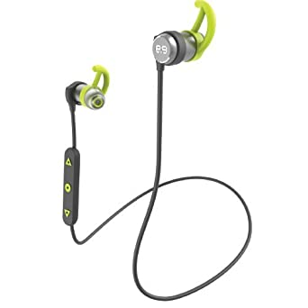 PureGear PureBoom In-Ear Bluetooth Premium Sound Headphones Wireless Sport Earbuds w Mic, IPX4 Sweat and Water Resistant, Universal Fit, 8 Hours Battery, Magnetic Auto On-Off Technology Certified Re