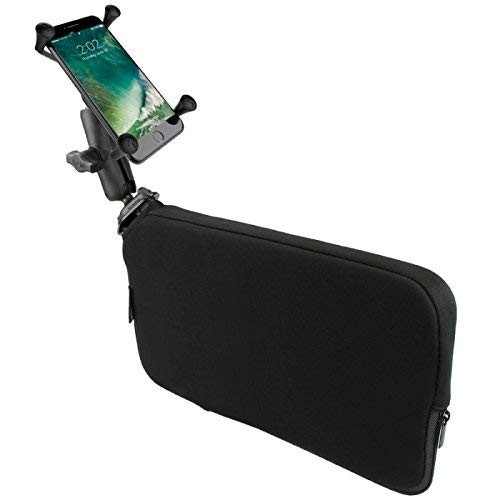 (RAP-SB-407-UN10U RAM X-Grip Large Phone Mount with RAM Tough-Wedge Base)