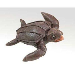 Folkmanis Leatherback Sea Turtle Sea Hand Puppet