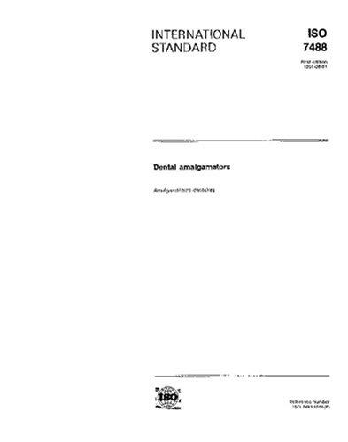 ISO 7488:1991, Dental amalgamators