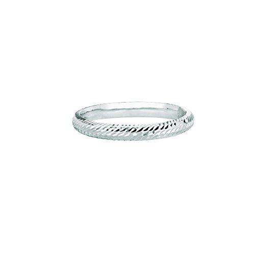9 2.5mm Polish Textured Finish Comfort Fit Wedding Band Ring (Textured Comfort Fit Wedding Band)