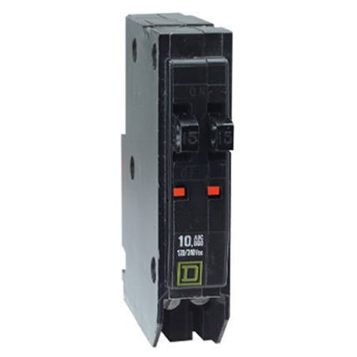 Square D by Schneider Electric QOT2020CP QO 2-20-Amp Single-Pole Tandem Circuit Breaker