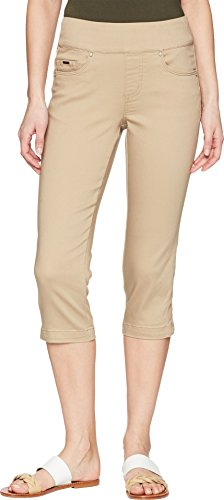 FDJ French Dressing Jeans Women's D-Lux Denim Pull-On Capris in Beach Bluff Beach Bluff 10