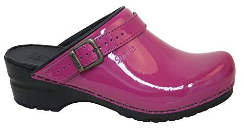 Sanita 'Freya Patent' Flexible Patent Clogs (Art: 457548) - Fuchsia 41 ()