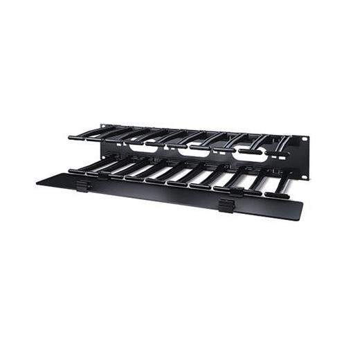 APC AR8606 Horizontal Cable Manager, Black by APC (Image #1)