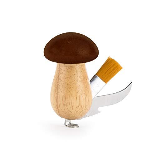 Kikkerland Knife Set - Kikkerland Mushroom Tool Keychain