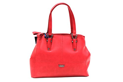 Borsa donna Tommy Barbados l.Altea mod. shopping a mano 533 rosso