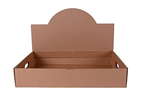 Southern Champion Tray 1188 Corrugated Convertible Pop Up Catering Tray,  21-1/2