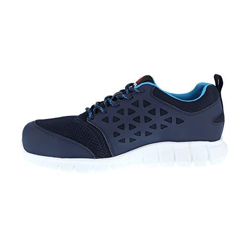 De Avec Taille Reebok Chaussures nbsp;excel Travail 36 36 Bordure Bleu Src Sarcelle Marine Ib131s1p S1p Light Femme x446v8wq