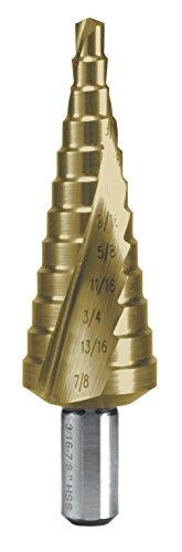 RUKO 101704T Step Drill, HSS-TiN, Size 4