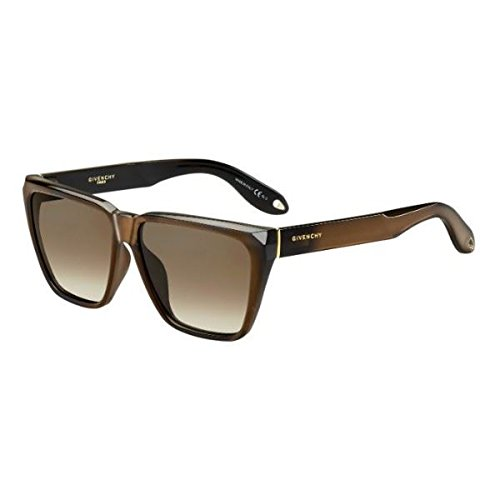 Givenchy 7002/S R99 Metallized Brown 7002/S Square Sunglasses Lens Category 3 - Glasses Givenchy