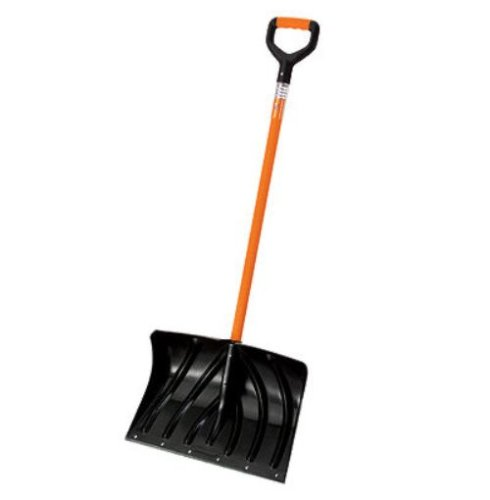 Suncast SCH2790 20-Inch Snow Shovel/Pusher Combo with Shock Absorbing Spring D-Grip Handle And Wear Strip by Suncast