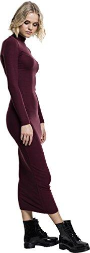 1151 Robe Rot Urban Turtleneck Classics Long Cherry Femme Ladies Dress wKK4pPczAq