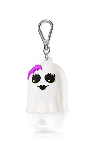 Bath & Body Works PocketBac Hand Gel Holder Light Up Girly Ghost -