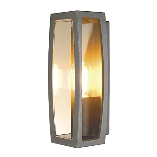 Slv meridian - Luminaria box-2 e27 25w ip54 antracita
