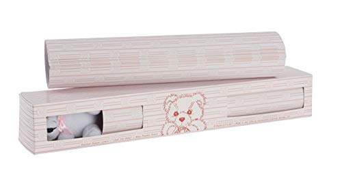 Scentennials Baby Original Pink with Teddy Bear (8 Sheets) Scented Drawer Liners (Scented Liner Drawer Vanilla)