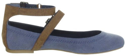 ESPRIT Rina Ankle D05636 Damen Ballerinas Blau (dress blue 407)