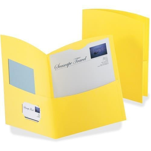 50625-70 TOPS Contour Twin Pocket Folders - Letter - 8.50