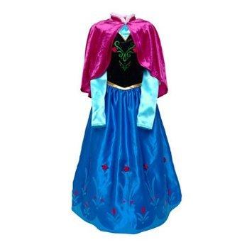 Disney original Kinder Mädchen Kostüm Eiskönigin Anna